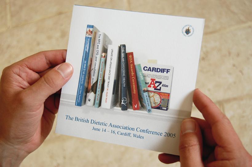 British Dietetic Association conference invite
