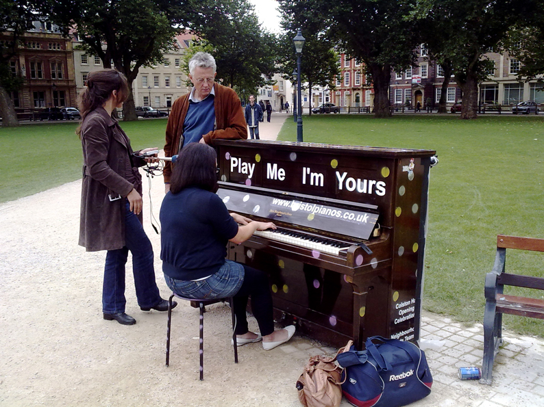 Play me Im yours Bristol