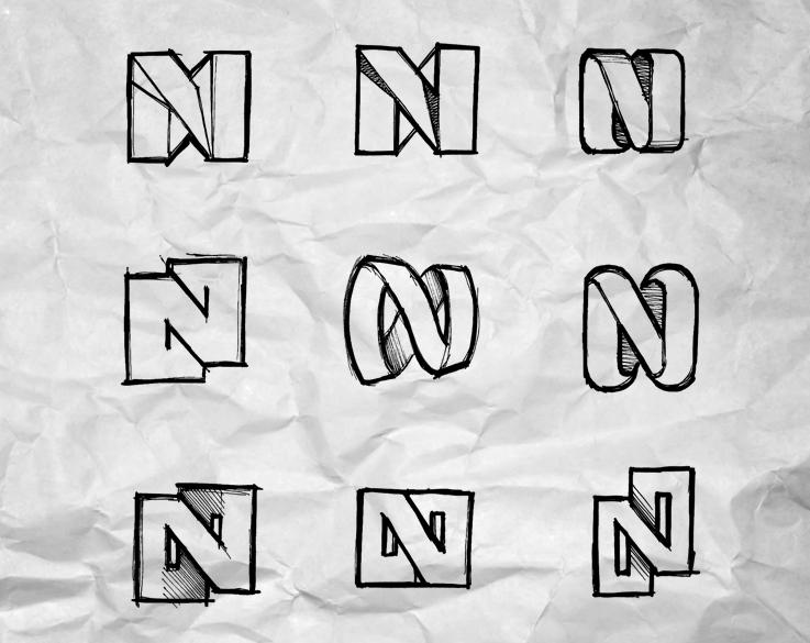 Nonstop Adventure logo concepts