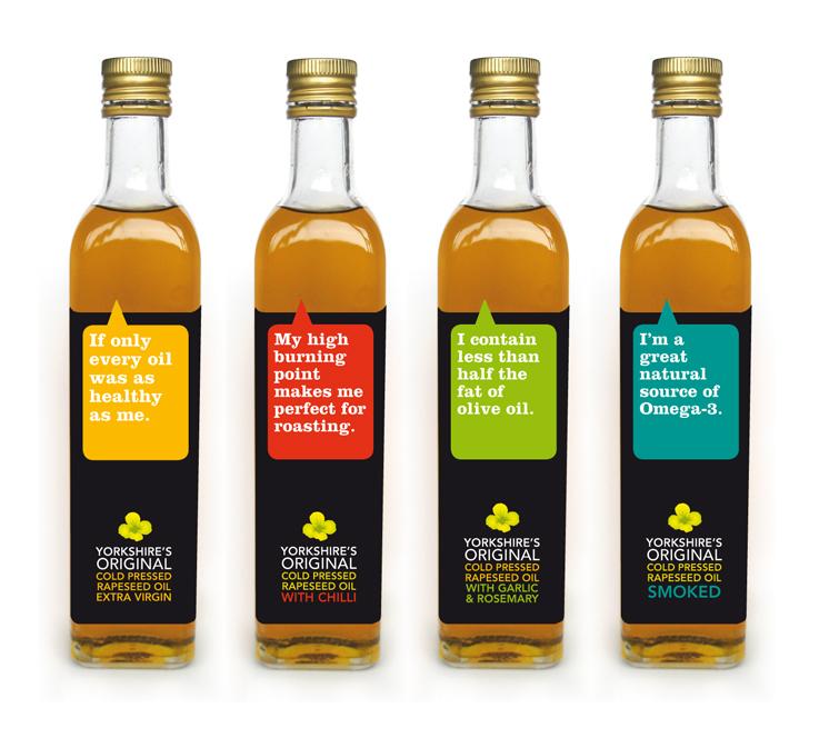 Yorkshire's Original Rapeseed Oil