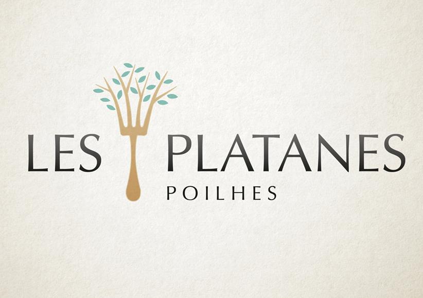 Les Platanes logo