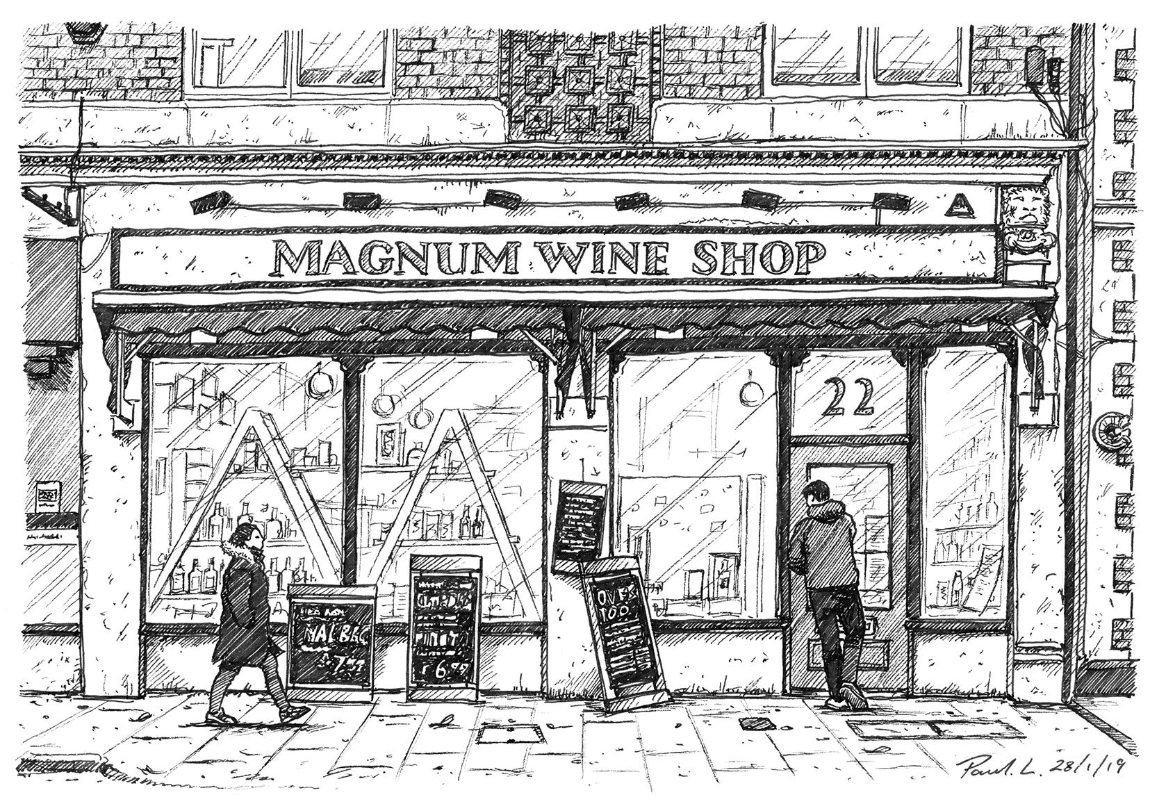 Magnum Wine